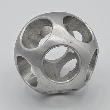 KERN-Kugel 30 - Kugel-Skulptur, Metall, Bohrloch 30 mm