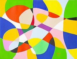 Ellipso 8 - Óleo sobre lienzo, 90 x 70 cm