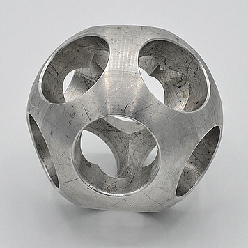 KERN-Orb 24 - Orb-Sculpture, metal, diameter 24mm