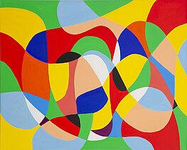 Elipso 5 - 布面油画, 100 x 80 cm