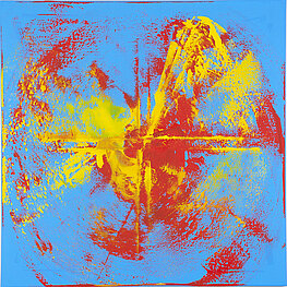 Galaxie 3 – Óleo sobre lienzo, 100 x 100 cm