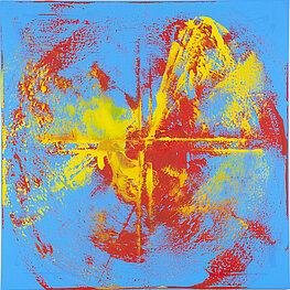 Galaxie 3 – 布面油画, 100 x 100 cm