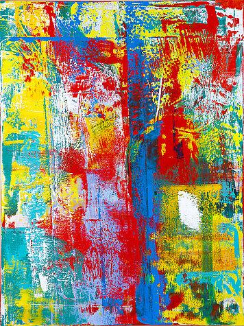 Gloria Composita 3 – Óleo sobre lienzo, 120 x 160 cm